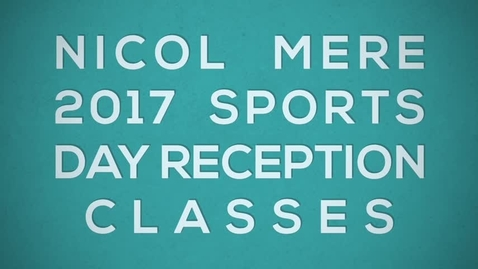 Thumbnail for entry Nicol Mere Reception Sports Day 2017