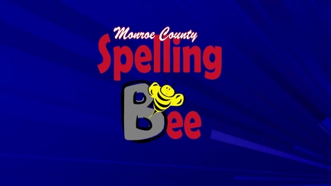 Thumbnail for entry Monroe County Spelling Bee 2015