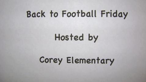 Thumbnail for entry Corey NFL Football Friday