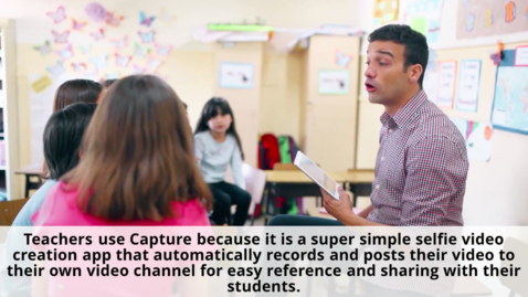 Thumbnail for entry How & When You Can Use SchoolTube's Capture as a Teacher