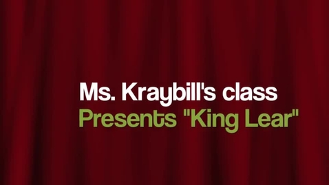 Thumbnail for entry King Lear 2014
