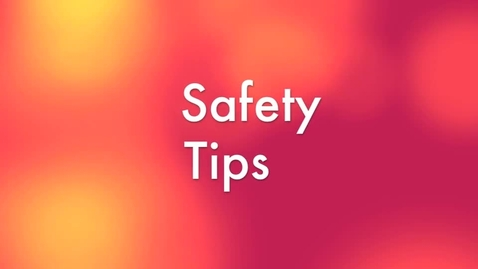 """Thumbnail for entry News Feature- """"Safety Tips,"""" Knudson Middle School"""