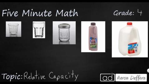 Thumbnail for entry 4th Grade Math Relative Capacity