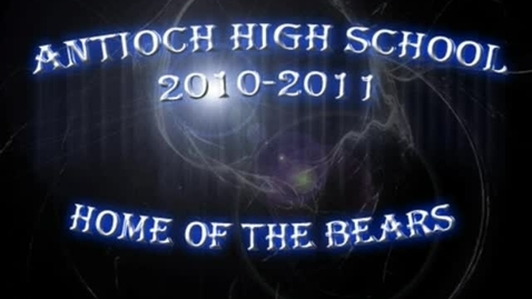Thumbnail for entry Antioch high school year
