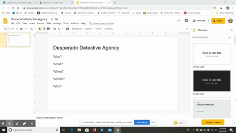 Thumbnail for entry Desperado Detective Agency Directions.webm