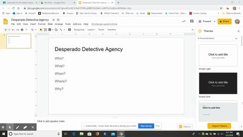 Thumbnail for entry Desperado Detective Agency Directions.webm