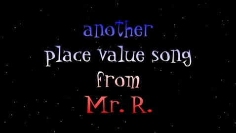 Thumbnail for entry math song (place value to the millions)
