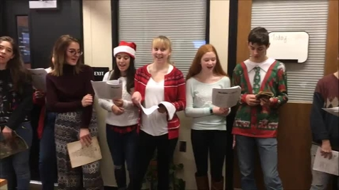 Thumbnail for entry SCA Musicians Spread Christmas Cheer!