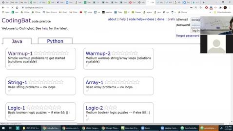 Thumbnail for entry coding bat - string help