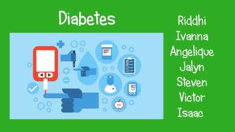 Thumbnail for entry Diabetes: Insulin and the Pancreas at Work and Not...