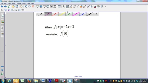 Thumbnail for entry Week 12 Quiz Question 3, functions and function notation