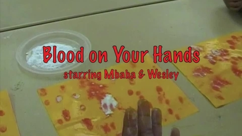 Thumbnail for entry Blood on Your Hands
