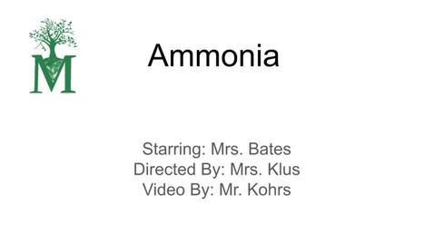 Thumbnail for entry Ammonia