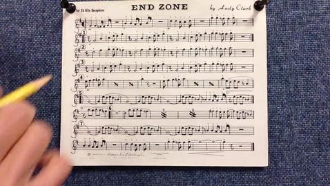 Thumbnail for entry End Zone 1st alto sax pt 1
