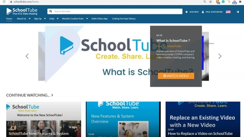 Thumbnail for entry SchoolTube Overview for School Administrators