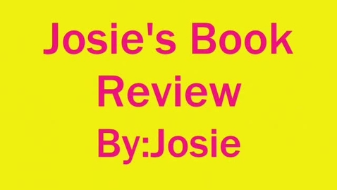 Thumbnail for entry Hollingsworth:  Josie
