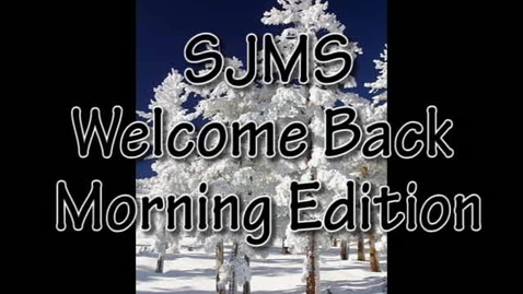 Thumbnail for entry SJMS Welcome Back