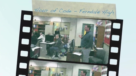 Thumbnail for entry Hour of Code: Ferndale High School