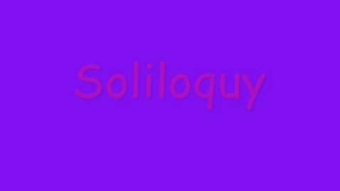 Thumbnail for entry Chayna Soliloquy