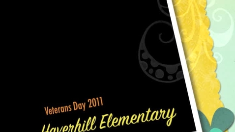 Thumbnail for entry Veterans Day Celebrations:  Reading and Riding at Haverhill