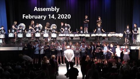 Thumbnail for entry Assembly February 14, 2020