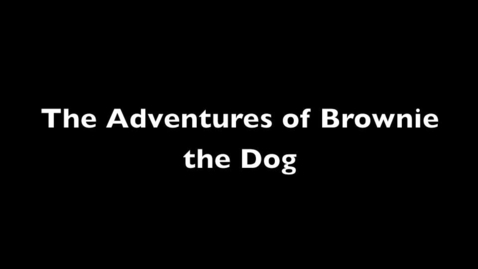 Thumbnail for entry The adventures of Brownie the Dog