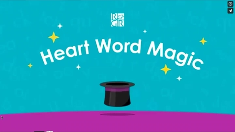 Thumbnail for entry Have - Heart Word Magic