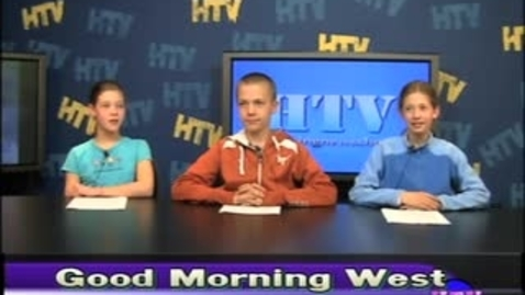Thumbnail for entry West HTV News 3.8.11
