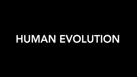 Thumbnail for entry Human Evolution Part I.mp4