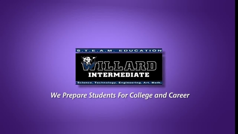 Thumbnail for entry Willard Sports Minute, Let's Face it, Teacher of the Week, Announcements and more!