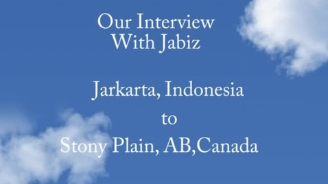 Thumbnail for entry Our Conversation to Jakarta
