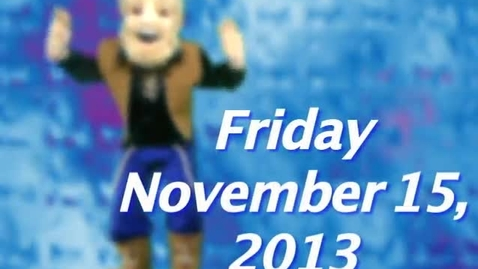 Thumbnail for entry Friday, November 15, 2013