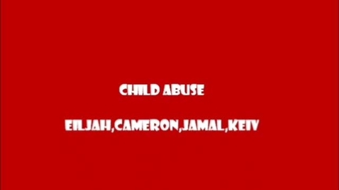 Thumbnail for entry Child Abuse Rap