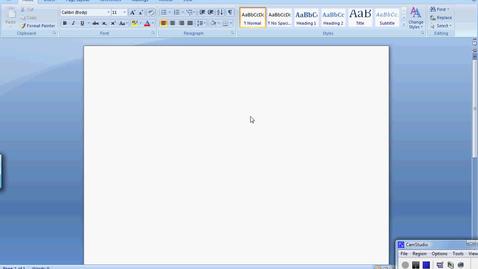 Thumbnail for entry Word 2007 Basics