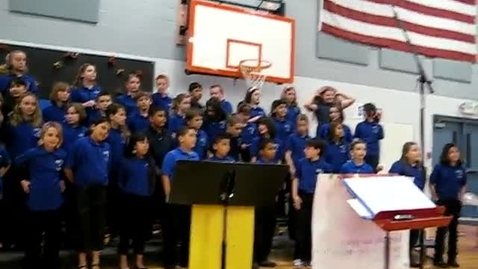 Thumbnail for entry Roosevelt Elementary Choir The Lion Sleeps Tonight