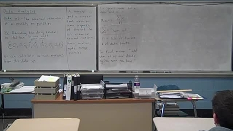 Thumbnail for entry Algebra 3-30-11