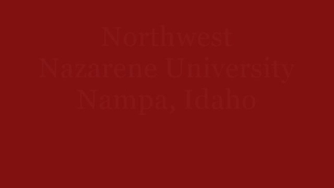 Thumbnail for entry Northwest Nazarene University