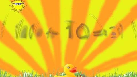Thumbnail for entry adding 10 + 10 (The Giant Green Giraffe)