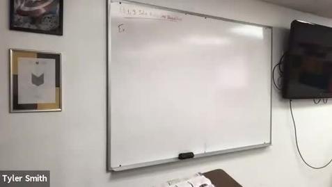 Thumbnail for entry Algebra 1 Class 2/24/21