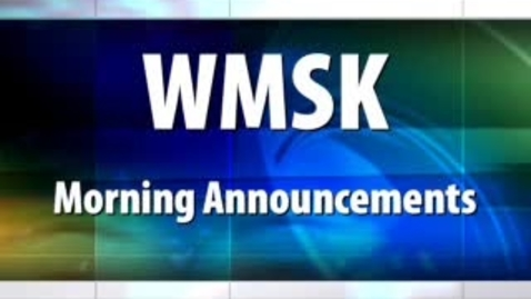 Thumbnail for entry WMSK Morning Show 9/11/09