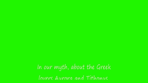 Thumbnail for entry Aurora and Tithonus