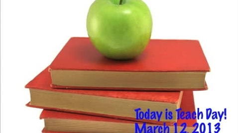 Thumbnail for entry Tuesday, March 12, 2013