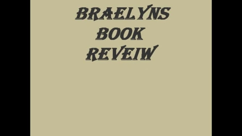 Thumbnail for entry 13-14 Sahadeo Braelyn's Book Review