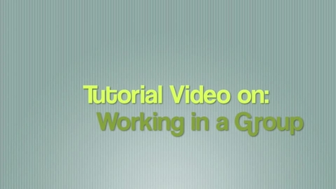 Thumbnail for entry Video Production Group Work