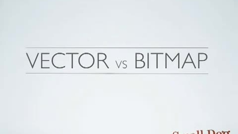 Thumbnail for entry Vector vs Bitmap FINAL