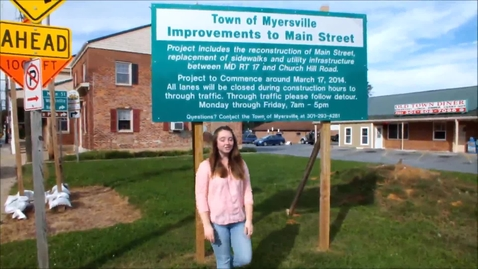 Thumbnail for entry Myersville Road Construction