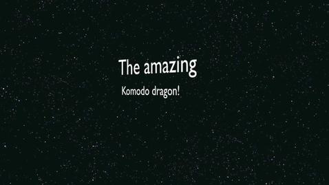 Thumbnail for entry komodo dragon