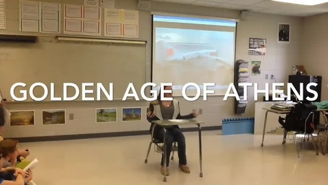 Thumbnail for entry Athens - Mr. Heath's Class 2015