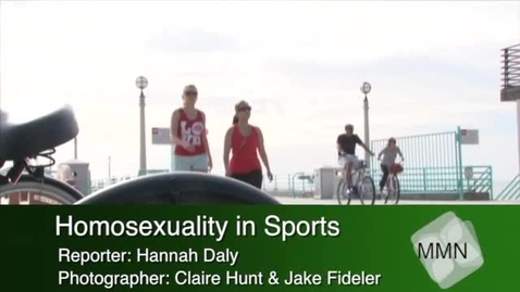 Thumbnail for entry Homosexuality in Sports