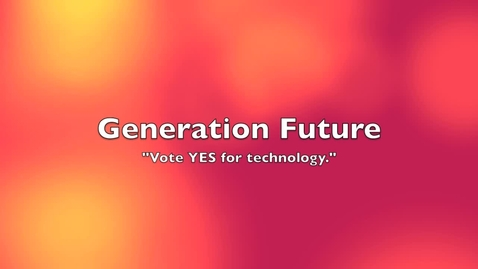 Thumbnail for entry Technology For Our Future